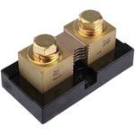 Murata Power Solutions Brass-Ended Shunt, 500 A, 50mV Output, ±0.25 % Accuracy