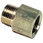 Legris LF3000 250 bar Brass Pneumatic Straight Threaded Adapter, NPT 3/4 Male To G 3/4 Female
