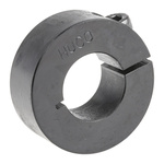 Huco Collar One Piece Clamp Screw, Bore 20mm, OD 40mm, W 15mm, Steel