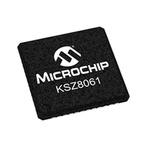 Microchip KSZ8061MNGW, Ethernet Transceiver, 10Mbps, 3.3 V, 48-Pin QFN