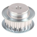 RS PRO Timing Belt Pulley, Aluminium 10mm Belt Width x 5mm Pitch, 19 Tooth