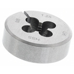 RS PRO Left Hand Thread Thread Die, M8 x 1.25mm Pitch, 33.33mm od