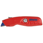 Irwin Retractable Utility Safety Knife with Straight Blade