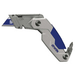 Irwin Retractable Folding; Utility Safety Knife with Craftman Blade