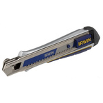 Irwin No 18.0mm Heavy Duty Safety Knife with Snap-off Blade
