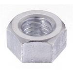 Yahata Neji Steel Hex Nut, Chrome Plated, M2