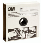 3M P240 Very Fine Sandpaper Roll, 25m x 38mm