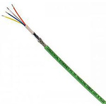 Harting HARTING RJ Industrial® Green PUR Cat5 Cable SF/UTP, 100m Unterminated/Unterminated