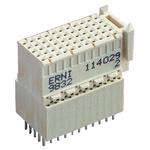 ERNI, ERmet 2mm Pitch Hard Metric Type C Backplane Connector, Female, Vertical, 11 Column, 5 Row, 55 Way