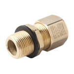 Moflash A2EX M20 Cable Gland, Nickel Plated Brass, IP66, IP68, ATEX