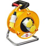 brennenstuhl 25m 2 Socket BS4343/EN60309 110V-16A Extension Reel, 110 V
