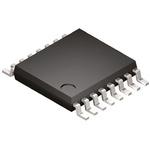 Analog Devices, DAC Quad 8 bit-, 167ksps, ±1.25%FSR Serial (I2C), 16-Pin TSSOP