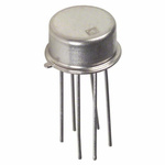 Analog Devices MAT12AHZ Dual NPN Transistor, 20 mA, 10 V, 6-Pin TO-78