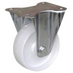 Guitel point m Fixed Castor Wheel, 100kg Load Capacity, 100mm Wheel Diameter