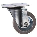 LAG Swivel Swivel Castor, 80kg Load Capacity, 100mm Wheel Diameter