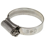 HI-GRIP Stainless Steel Slotted Hex Worm Drive, 13mm Band Width, 35mm - 50mm Inside Diameter