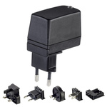 Friwo, 7.5W Plug In Power Supply 12V dc, 600mA, Level VI Efficiency, 1 Output Switched Mode Power Supply,