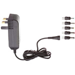 Egston, 9W Plug In Power Supply 6V dc, 1.5A, Level V Efficiency, 1 Output Switched Mode Power Supply, Type G