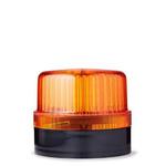 AUER Signal BLG Series Orange LED Beacon, 230 V, Flashing, Panel-Mounted