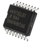Allegro Microsystems A4973SLBTR-T,  Brushed Motor Driver IC, 50 V 1.5A 16-Pin, SOIC W