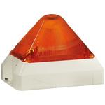 Pfannenberg PY X-M-05 Amber Xenon Beacon, 230 V ac, Flashing, Panel Mount