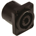 Neutrik Panel Mount Loudspeaker Connector Plug, 4 Way, 40A, Solder Termination