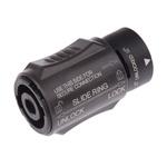 Neutrik Loudspeaker Connector, Plug to Plug, 4 Way, 30A