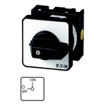 Eaton, 3PST 2 Position 90° Changeover Switch, 690 V ac, 20 A, Rotary Knob Actuator