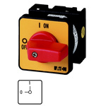 Eaton, 2P 2 Position 90° Rotary Switch, 690V ac, 20A