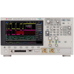 Keysight Technologies 3000T X-Series Bench Mixed Signal Oscilloscope, 1GHz, 2 Channels With RS Calibration