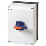 Eaton 3 + N Pole Enclosed Non Fused Isolator Switch - 160 A Maximum Current, 90 kW Power Rating, IP65