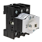 Eaton 3 Pole DIN Rail Non Fused Isolator Switch - 25 A Maximum Current, 7.5 kW Power Rating, IP65