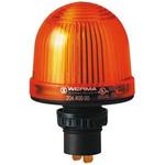 Werma EM 207 Yellow LED Beacon, 24 V ac/dc, Steady, Panel Mount