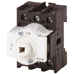 Eaton 3 Pole DIN Rail Non Fused Isolator Switch - 32 A Maximum Current, 13 kW Power Rating, IP65