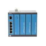 Insys Microelectronics Industrial Router, 5 ports - RJ45 Connections, 10/100Mbit/s Transmission Speed DIN Rail