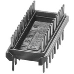 Aries Electronics 2.54mm Pitch 24 Way,Through Hole Mount PCB Header, Tin over Nickel, 2A