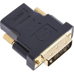 RS PRO DVI-D Male to DVI-HDMI Female Network Adapter