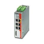 Phoenix Contact FL mGuard Series VPN Firewall, 6 ports - RJ45 Connections, 10/100Mbit/s Transmission Speed DIN Rail