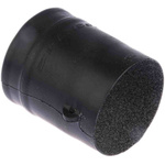 TE Connectivity Adhesive Lined Heat Shrink Boot, Black, 202K1 Series