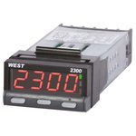 West Instruments N2300 PID Temperature Controller, 49 x 25mm, 2 Output, 12  30 V dc, 24 V ac Supply Voltage