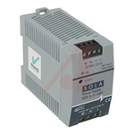 Sola SDP DIN Rail Power Supply with Continuous Short Circuit Protection, Low Output Noise 85 → 264V ac Input