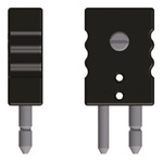 Reckmann Thermocouple Connector for use with Type K Thermocouple Type J, Standard