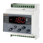 Eliwell DR 983 On/Off Temperature Controller, 70 x 85mm, PTC Input, 230 V ac Supply