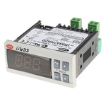 Carel IR33 Panel Mount PID Temperature Controller, 76.2 x 34.2mm, 4 Output SSR, 115  230 V ac Supply Voltage