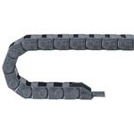 Igus 6, e-chain Black Cable Chain, W37 mm x D10.5mm, L1m, 18 mm Min. Bend Radius, Igumid G