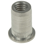 Böllhoff Plain, M5 Stainless Steel Threaded Insert, 9mm diameter 7mm Depth 11.8mm