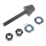 RS PRO Neoprene Tipped Adjustable Spindle, For Use With Toggle Clamp