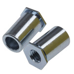 RS PRO Steel Zinc Plated Self-Clinching Standoff, M4