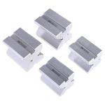 RS PRO Steel Screw Clamping Prisma en V, 15.8 → 25.4mm Capacity