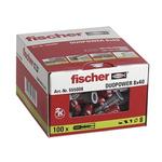 Fischer Fixings Nylon Masonry Fixing, fixing hole diameter 8mm, length 40mm